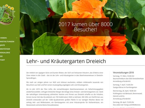 Vereins-Homepage Dreieich