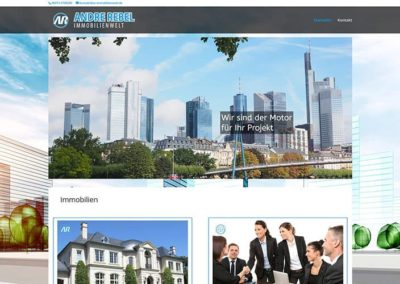 Erstellung Immobilien Website