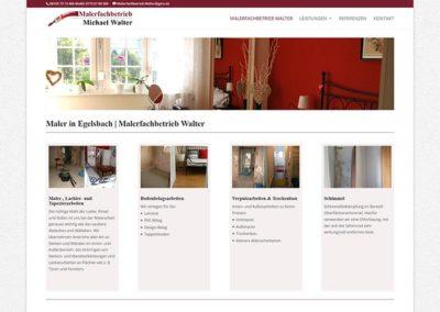 Egelsbach | Homepage Erstellung Maler