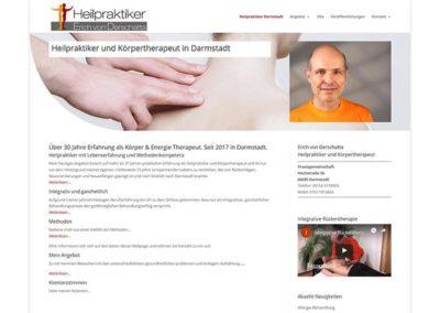 Darmstadt | Erstellung Homepage Heilpraktiker