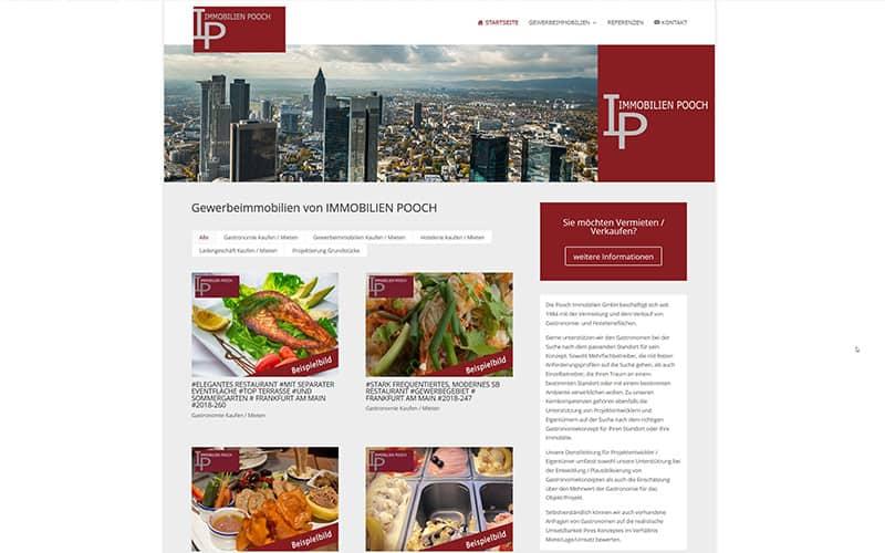 Dreieich | Redesign Homepage Immobilien