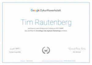 Google-Zertifikat-Tim-Rautenberg