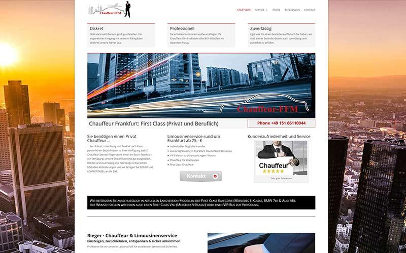 Chauffeur-Website-erstellen