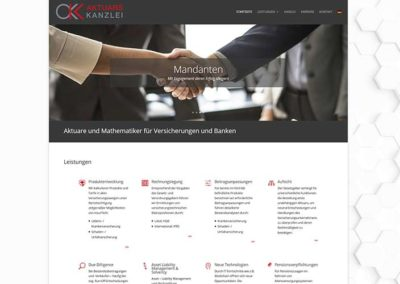 Frankfurt: alte Website in neuem Gewand