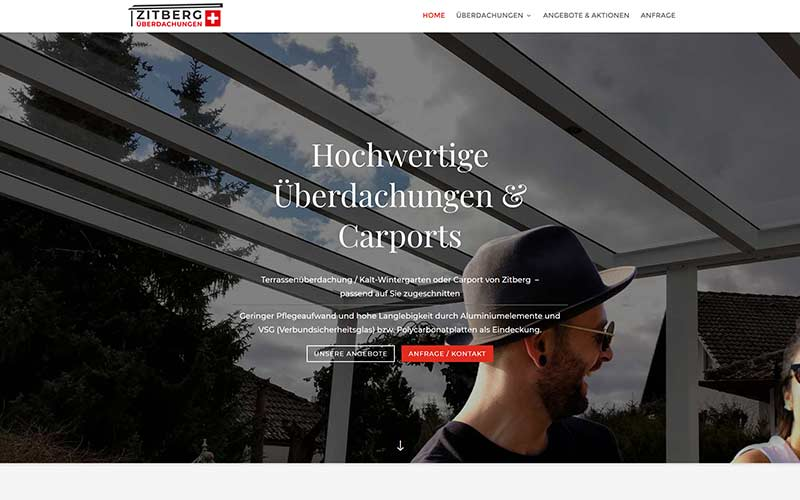 Schweiz: WordPress Website