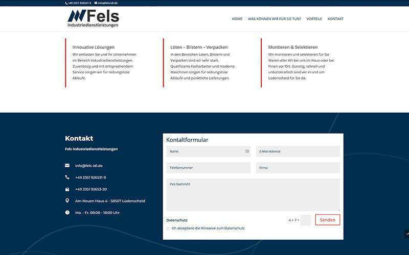 Lüdenscheid | Homepage-Erstellung Industrie
