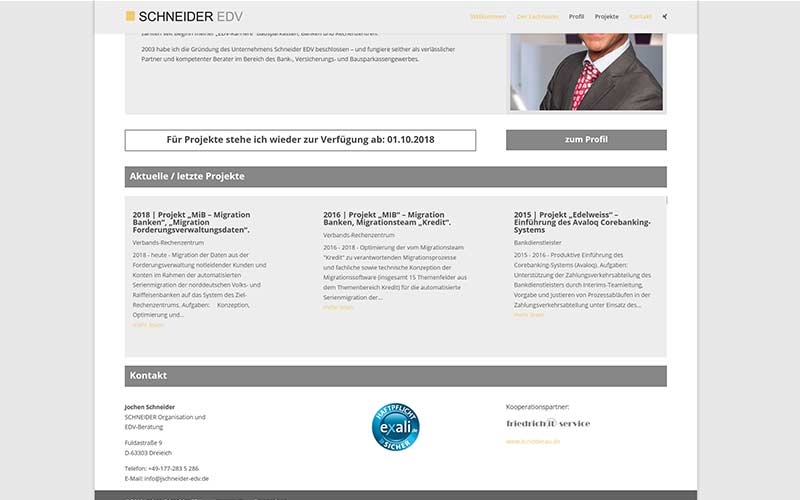 Dreieich | Homepage Neuauflage im Corporate Design