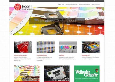 Weilrod | Homepage für eine Druckerei
