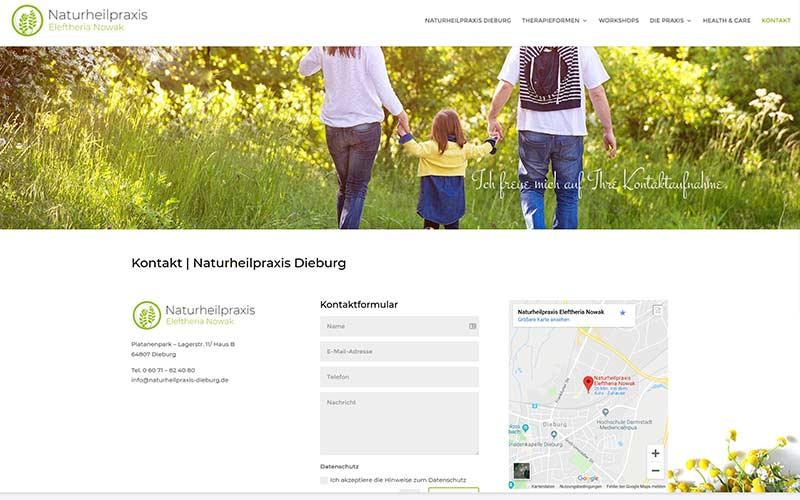 Dieburg | Homepageerstellung Naturheilpraxis