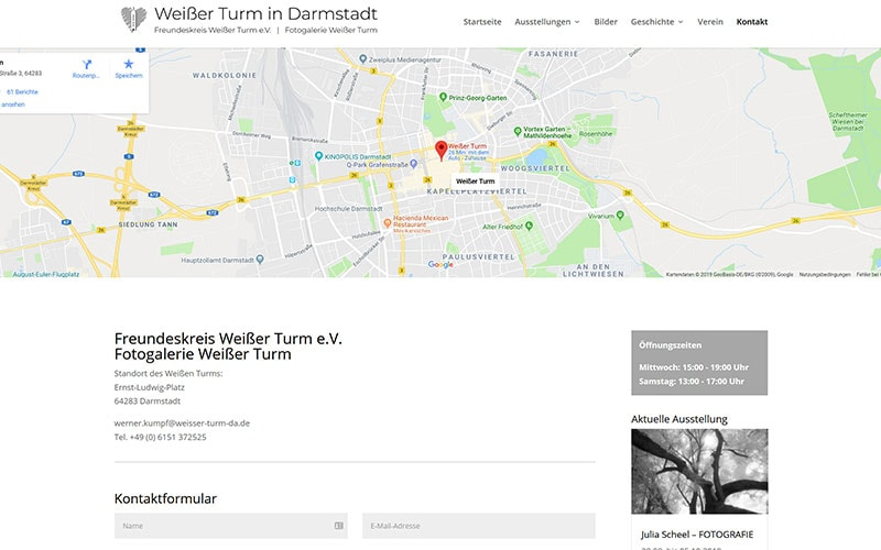 Weißer Turm Darmstadt