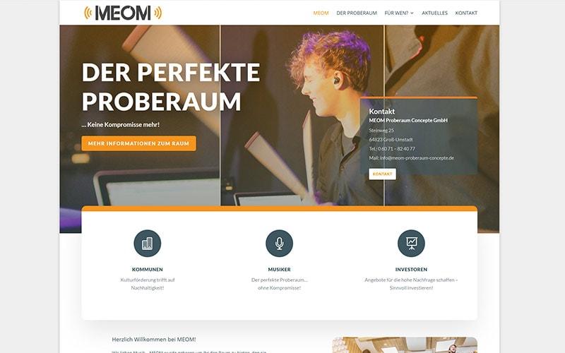 Groß-Umstadt: Homepage mit WordPress