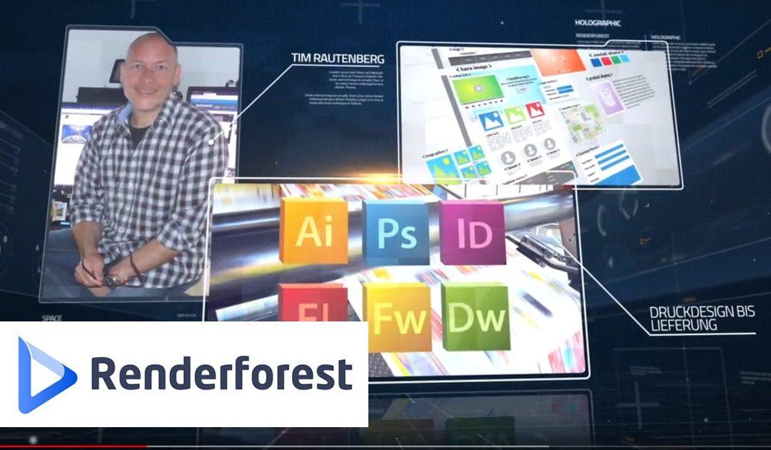 Renderforest | Test/ Erfahrungsbericht