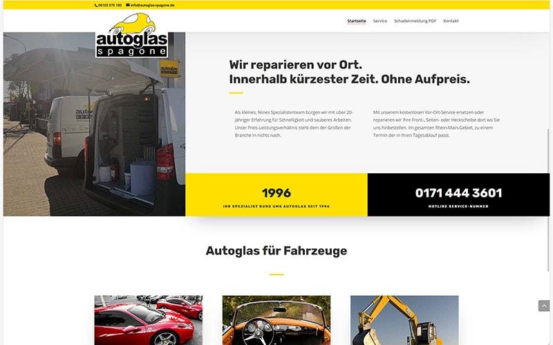 Homepage Redesign Langen