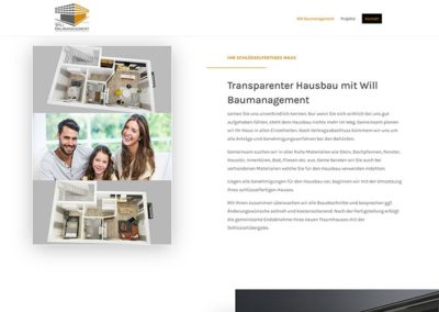 Langen: Bauunternehmen Homepage