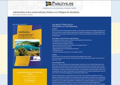 Segeln in Schweden Buch und Website