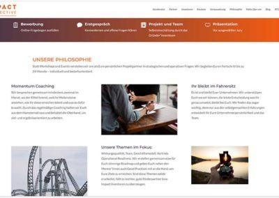 Impact die 2te Website