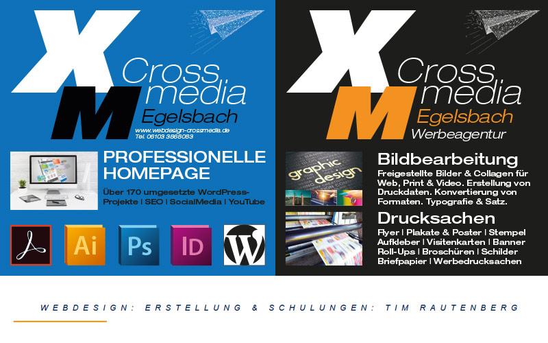 Crossmedia_Webdesign Homepage