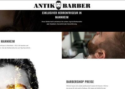 Mannheim | Website-Erstellung für einen Frisör