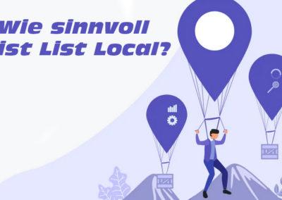 Wie Sinnvoll ist List Local?