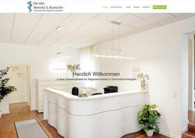 Homepage-Erstellung Hausarzt Darmstadt