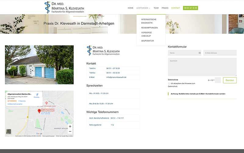 Homepage-Hausarzt-erstellung-1