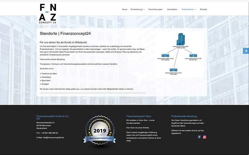 Mannheim | Firmen-Website an 1,5 Tagen
