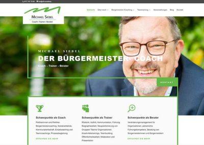 Website-Erstellung | Bürgermeister-Coach Darmstadt