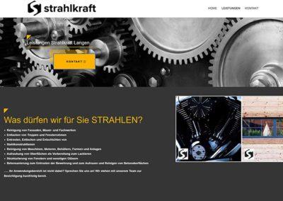 WordPress Homepage für ein neues Unternehmen in Langen / Hessen