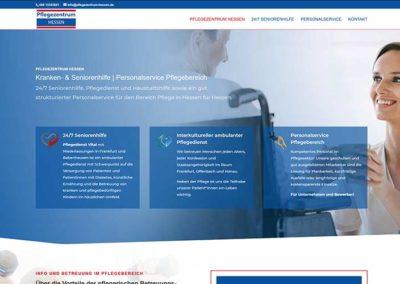 Frankfurt | Erstellung Homepage Pflegezentrum Hessen