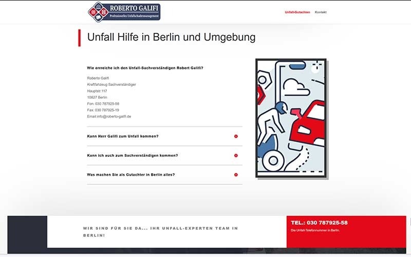 Berlin Homepage erstellen Gutachter