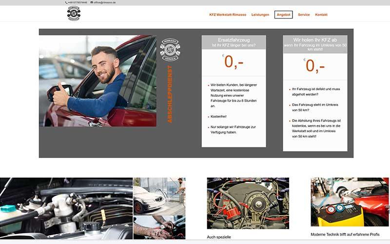 Ludwigshafen | Homepageerstellung Autowerkstatt