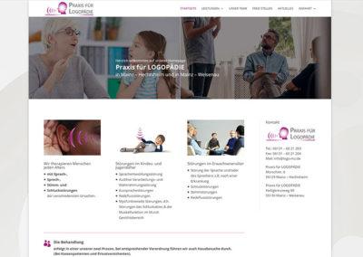 Mainz | Website Redesign Logopäde