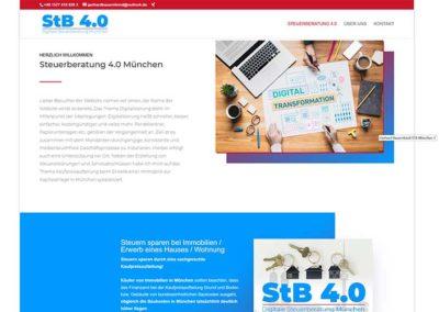 München | Homepage für einen Steuerberater
