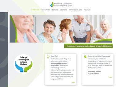 Pleidelsheim | Homepageerstellung Pflegedienst