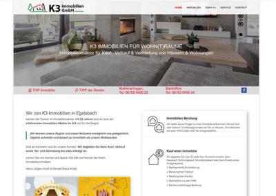 Homepageerstellung Immobilienmakler