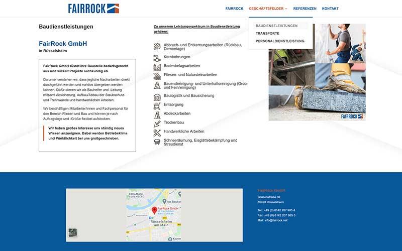 Rüsselsheim | WordPress Website für ein Dienstleistungsunternehmen
