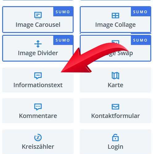 Info-Box für Divi